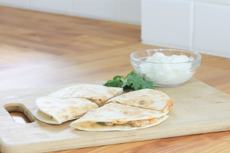 White Bean Quesadillas